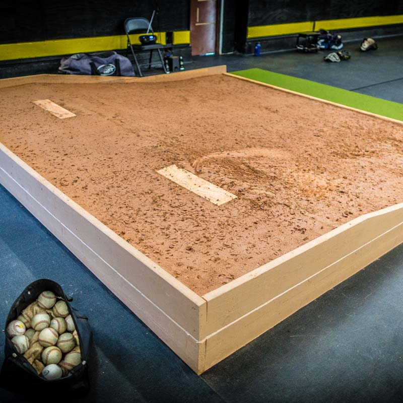 NPA West MLB Style Clay Pitching Mound Baseball